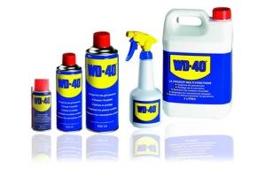 WD40 product range