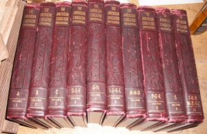 10 volume encyclopedia set