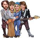 Abba cartoon