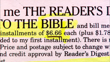 classified ad 666 ad for bibles