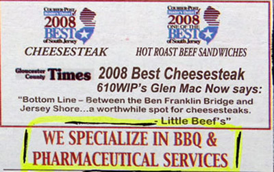 classified ad bbq and pharmaceutical services