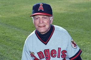 coach Jimmie Reese  California Angels
