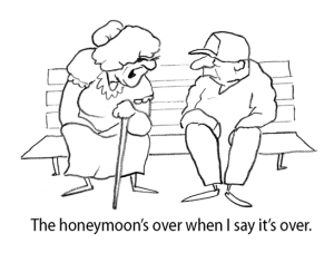 honeymoon cartoon