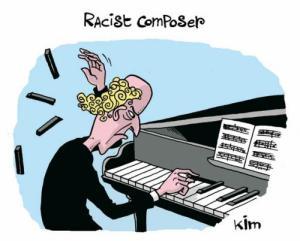 racist pianist