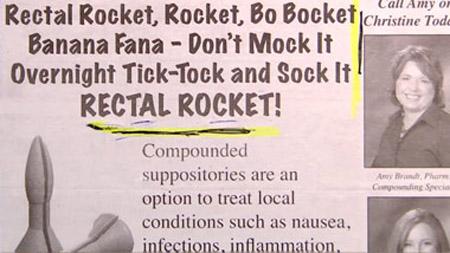 rectal rocket