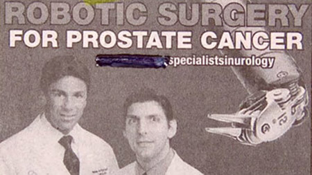 robotic prostrate surgery