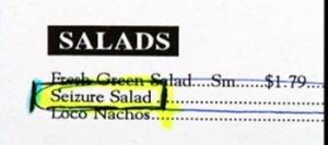 seizure salad
