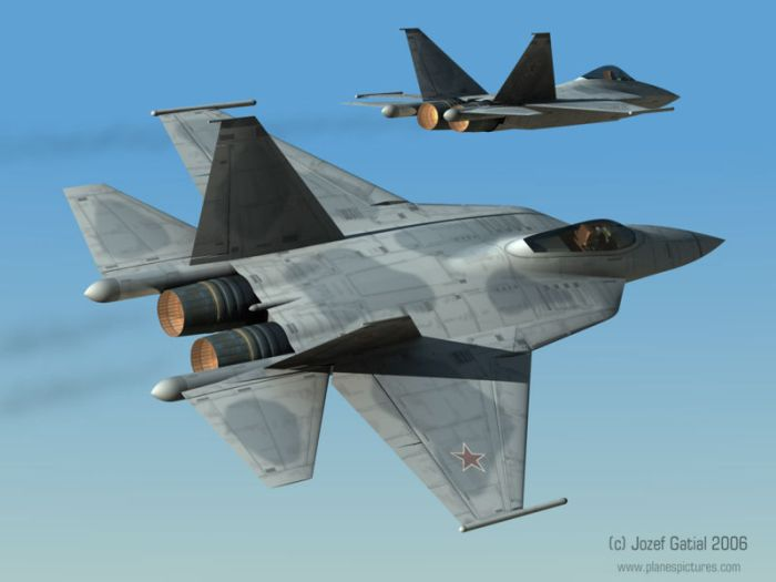 Sukhoi Pak Fa T-50 Fifth-Generation Fighter Jet