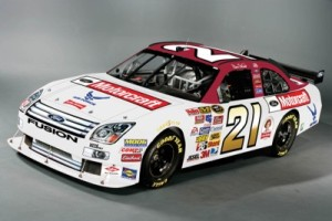 Wood Brothers car 21