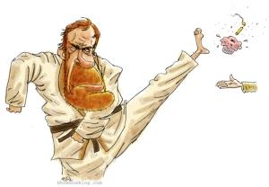 chuck norris cartoon