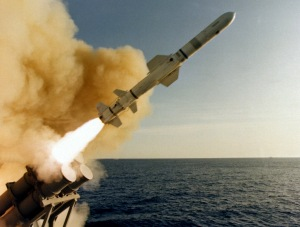 RGM-84 surface-to-surface Harpoon missile