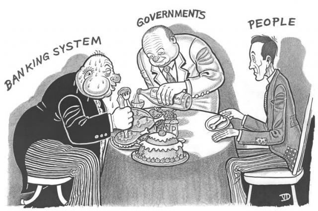 banksters table