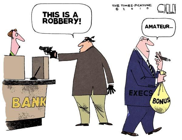banksters bonuses