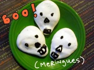 boo meringues