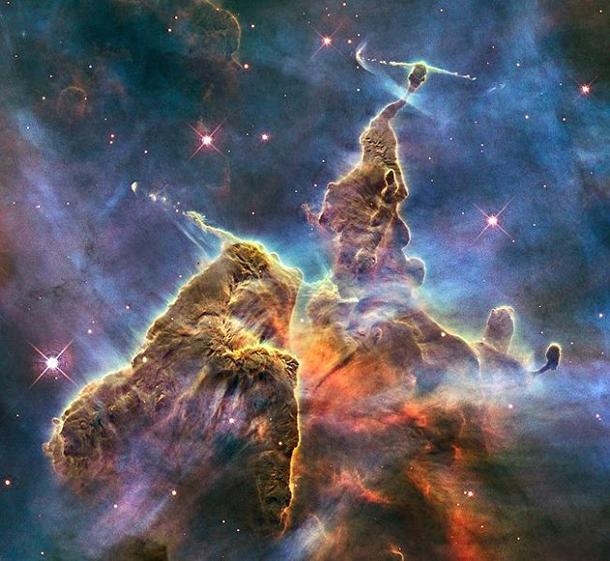carina nebula hubble