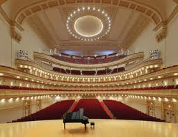 Carnegia Hall interior