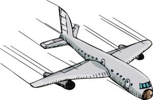 cartoon jet