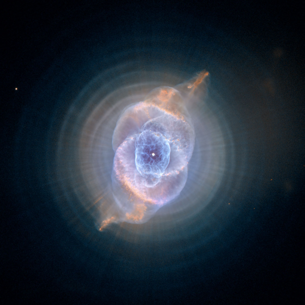 cats eye nebula hubble