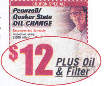 classified ad OilChange
