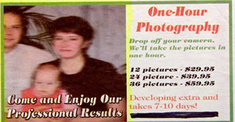 classified ad onehourphotgraphy