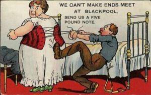 corset cartoon