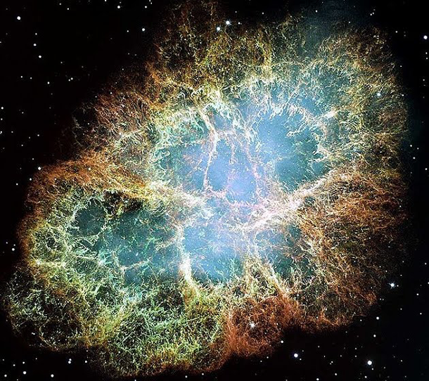 crab nebula hubble