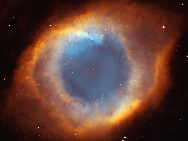 helix nebula hubble