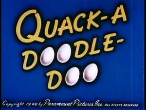 quack s doodle doo