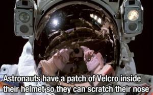 astronaut velcro