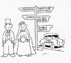 cartoon marriage