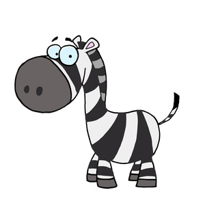 cartoon_zebra