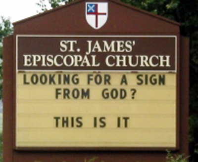 church_lookingforasignfrojmGod