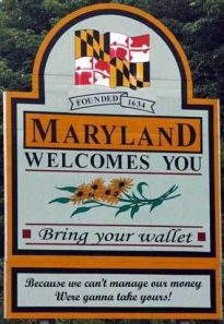 Maryland Welcome