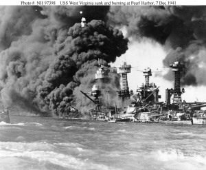 Pearl Harbor attack WWII