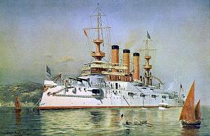 USS Maine BB-10 1902