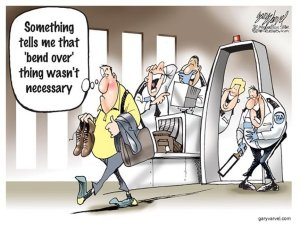 airport cartoon