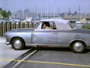 Columbo's old battered Peugeot cabriolet