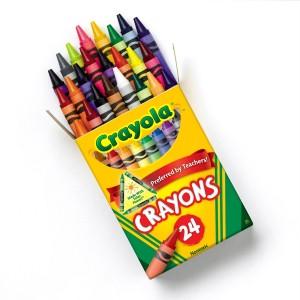CrayolaCrayons24CtOpenBox