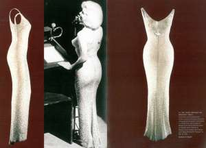 Marilyn Monroe birthday dress