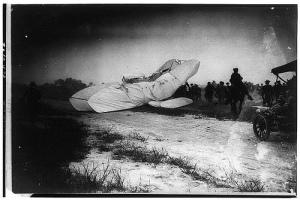 Orville Wright crash