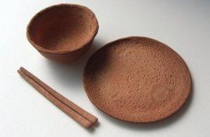 wheat dinnerware