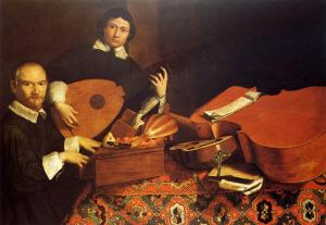 Baschenis_Evaristo-Self-Portrait_with_Musical_Instruments
