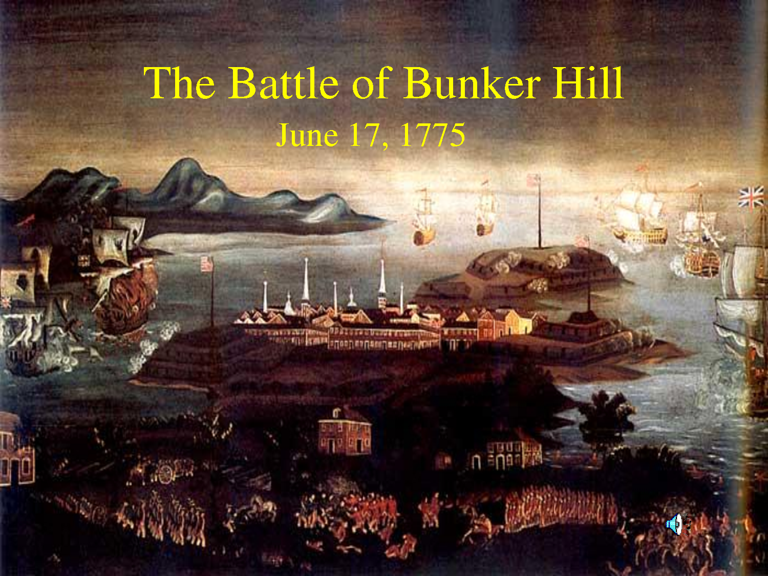 the battle of bunker hill The role of battle of bunker hill in the history of the united states of america.