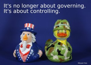 It's no longer about governing. It's about controlling.