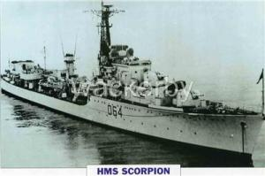 HMS Scorpion D64