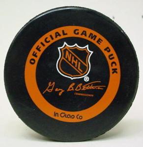 NHL puck