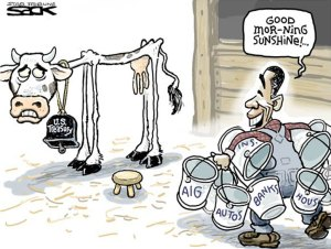 obama-milking-us-economy-dry_cow_
