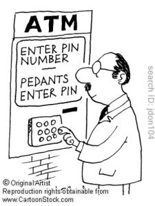 pedantic+pedant