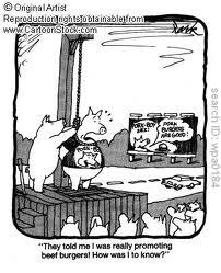 pig hanged