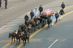 Presidential funeral procession
